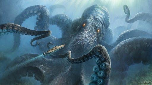 Kraken Live wallpaper