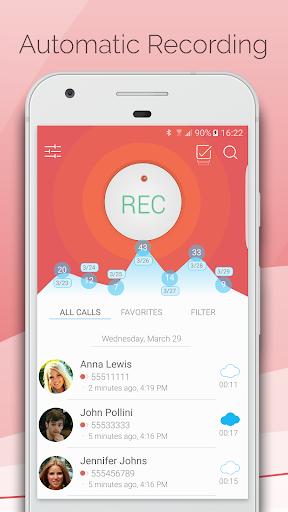 Automatic Call Recorder - CallsBOX 2.7 screenshots 1
