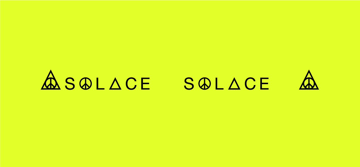 The Solace Responsive Logo Design