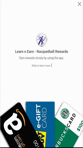 Racquetball Plus: Earn n Learn