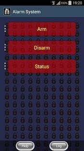 MyAlarmFree GSM remote manager - náhled