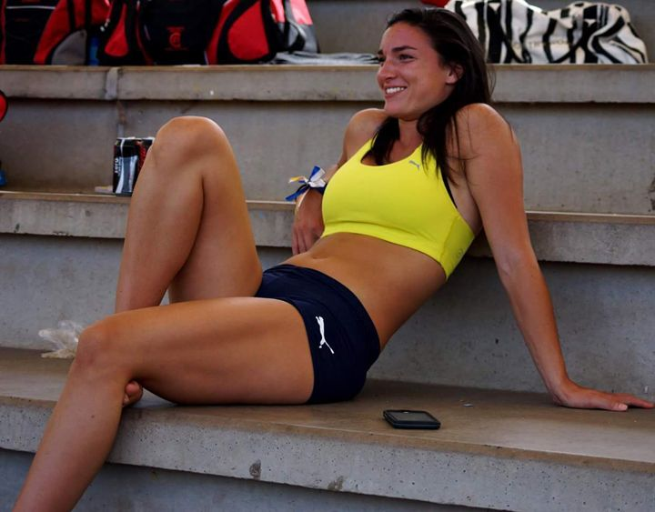 Michelle Jenneke (hurdler and model)