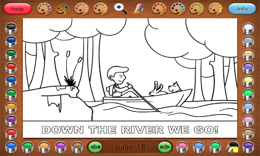 Coloring Book 32 Jim & His Dog- screenshot thumbnail