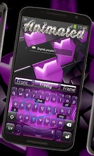 Tải Game Digital tím Keyboard Hoạt hình