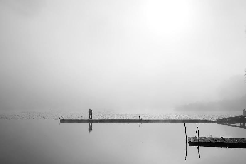 Da solo nella nebbia di alagnol