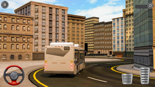 Passenger Bus Taxi Driving Simulator 1.6 screenshots 7