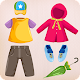 Kids puzzle for preschool education - Clothes 👔👗 (game)