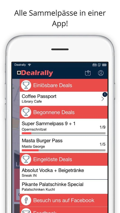 Dealrally- screenshot