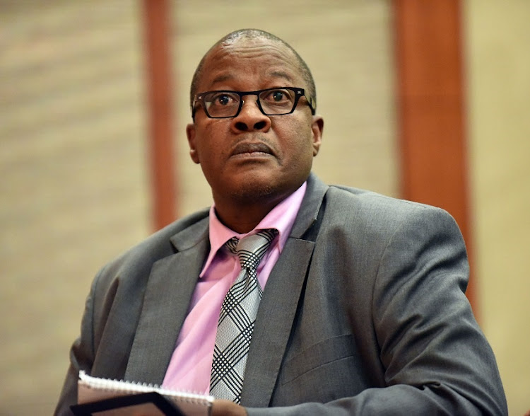 FILE PHOTO: Former Eskom CEO Brian Molefe.