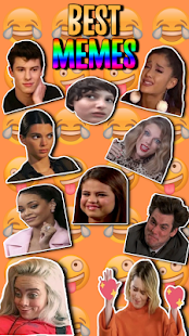 ⭐  Stickers Memes de Famosos (WAStickerApps) Screenshot