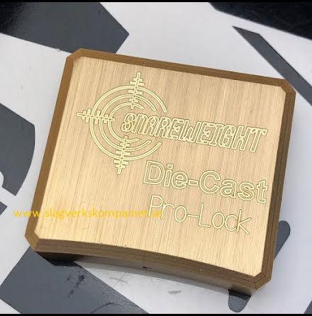 Snareweight Pro-Lock Brass - 007-PLB