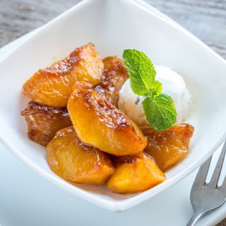 Stewed Peaches.