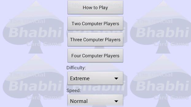 Bhabhi Card Game