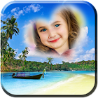 Beach Photo Frames Animated icon