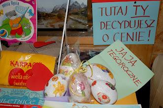 Photo: Wspomagamy się własnoręcznie zdobionymi , tegorocznymi jajami, na Wielkanoc : - )
