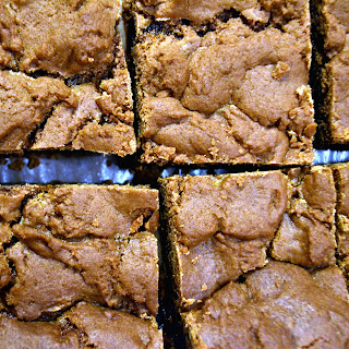 Boyfriend Brownies {Caramel Brownies}