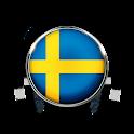 P4 Jämtland SR Radio App FM SE Free Online icon