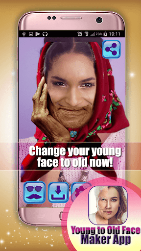 Young to Old Face Maker App 1.0 screenshots 3