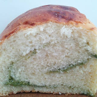 Matcha Swirl Bread.