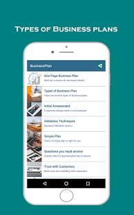 Business Plan for startups - náhled