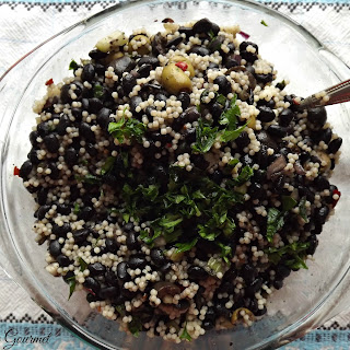 Black Bean & Couscous Salad
