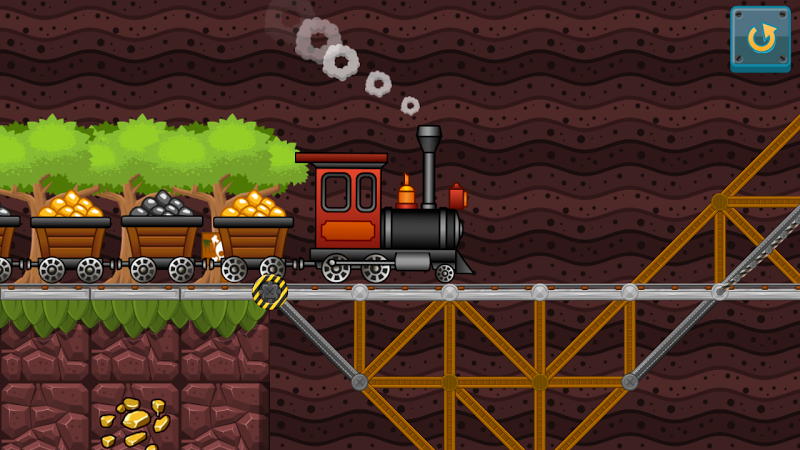Скриншот Мосты - физическая головоломка