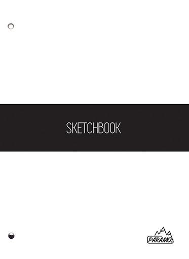sketchbook pages paramo 100 hojas