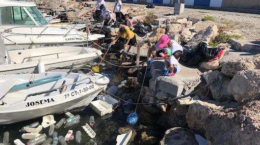 Jornada contra los residuos en el Puerto Pesquero