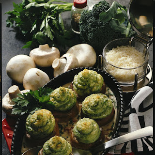Broccoli and Bacon Stuffed Mushrooms
