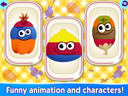 FUNNY FOOD 2! Educational Games for Kids Toddlers!- screenshot thumbnail