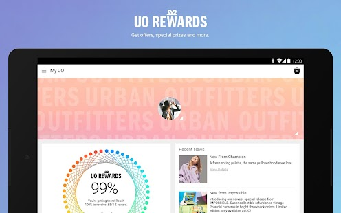 Urban Outfitters- screenshot thumbnail
