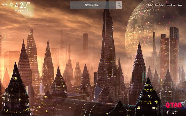 Apocalyptic Wallpapers HD Theme