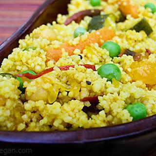 Orange Couscous Curry.
