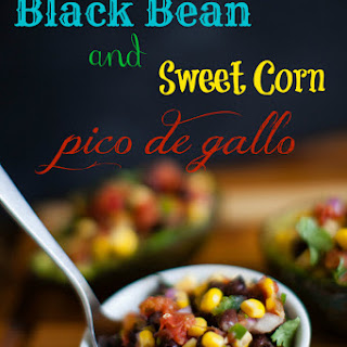 Black Bean and Corn Pico De Gallo