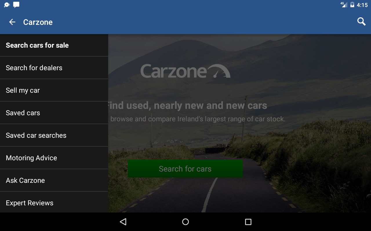 Carzone- screenshot
