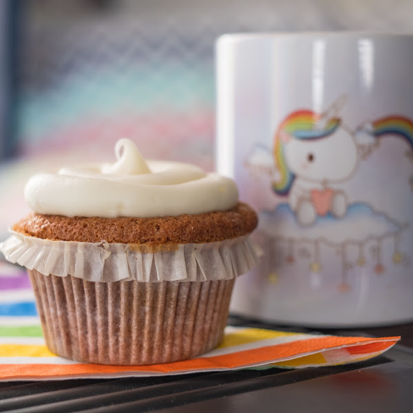 Carrot Cake Cupcake!