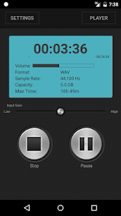 PCM Recorder- screenshot thumbnail