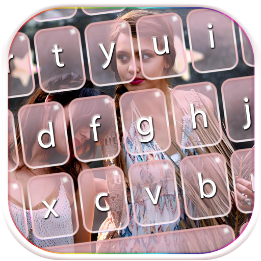 Cute Keyboard with My Photo