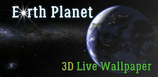 Earth Planet 3D Live Wallpaper app apk free download for Android/PC/Windows