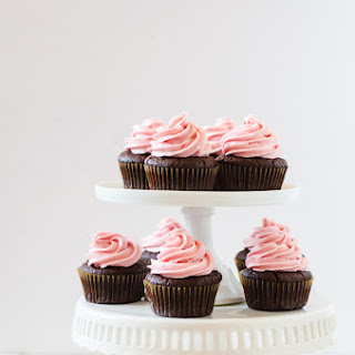 Blood Orange Chocolate Cupcakes Recipe