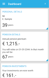 My Pension- screenshot thumbnail