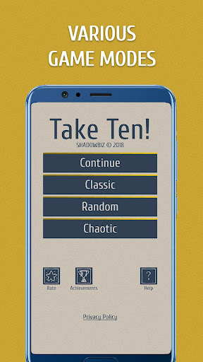 Take Ten: Puzzle with numbers. Pairs of digits apkpoly screenshots 5