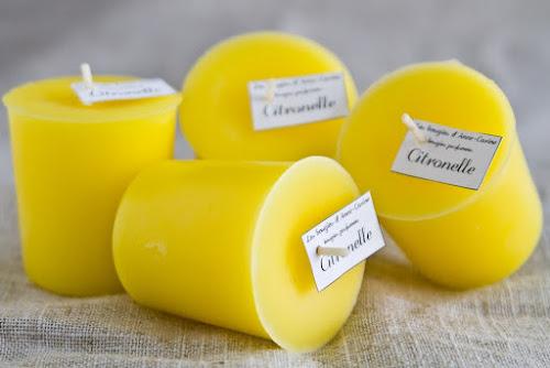 Bougies à la citronelle