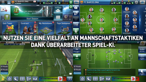 PES CLUB MANAGER APK MOD screenshots 2