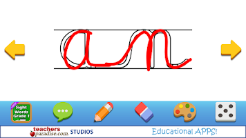 Screenshot of Kids Handwriting Grade 1 HWT
