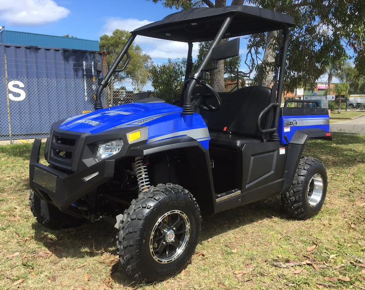 Electric 48 Volt Battery Operated E1 sector farm ute utv crossfire hisun HS450UTV agricultural machinery sale cheap offroad 4wd 4x4