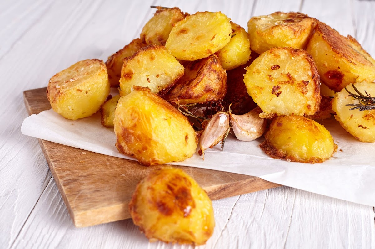 Three Hacks For Making The Crispiest Roast Potatoes Ever