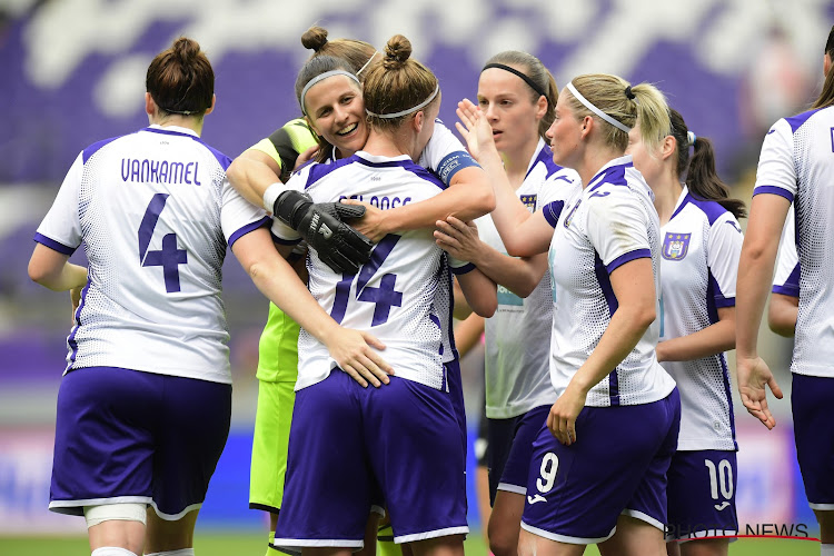 Anderlecht connaît son adversaire pour les 1/16 de finale de la Ligue des Champions féminine