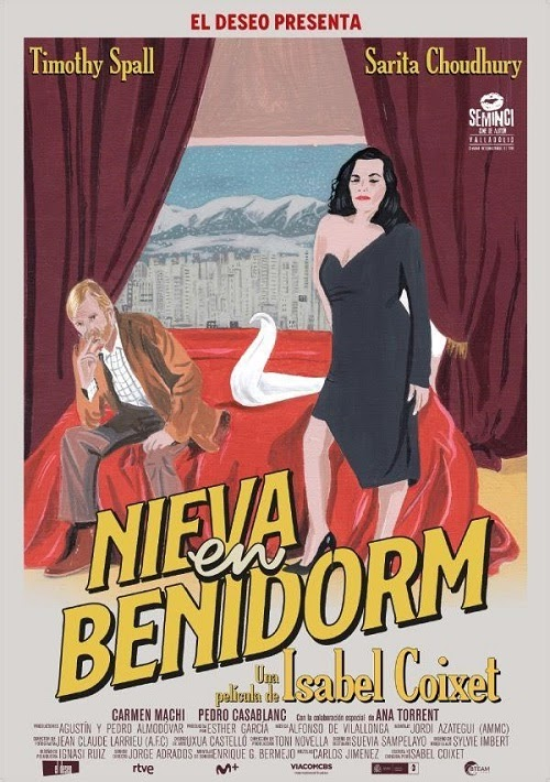 Nieva en Benidorm