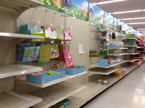 Photo: Look the start of Easter supplies are coming...